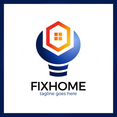 House Repair Logo