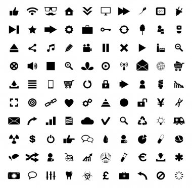 Set of 100 Quality icon. Fire Service icons , Medical icons , Media icons , Money icons , Food icons ,Mobile icons , Police icons ,Web icons , Camping icons, butterfly icons snowflakes icon