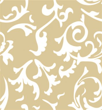 Vector damask seamless pattern background. Elegant luxury texture for wallpapers, backgrounds and page fill.