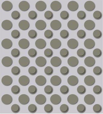 Vector Grey Textures Set for light design