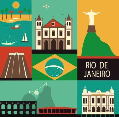 Symbols of Rio de Janeiro