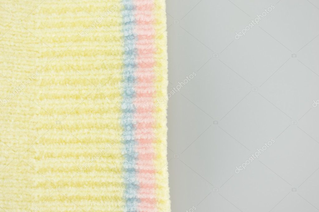 Textura de colores uso de guernsey como fondo de cerca — Foto de ...
