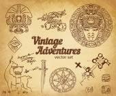 Fotografie Vintage Adventures: Designelemente