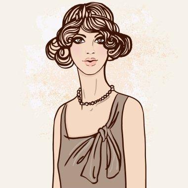Flapper Pretty girl