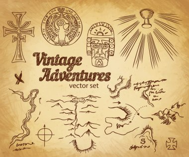 Vintage Adventures: Design elements