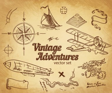 Vintage Adventures, Design elements