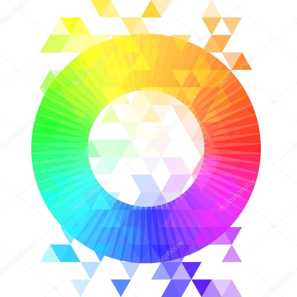 Creative Color Wheel Stock Vector C Vgorbash 80043998