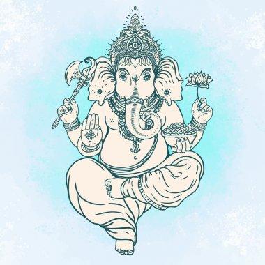 Hindu Lord Ganesha.