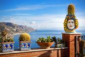 Photo  Coastline Taormina, Sicily, Italy