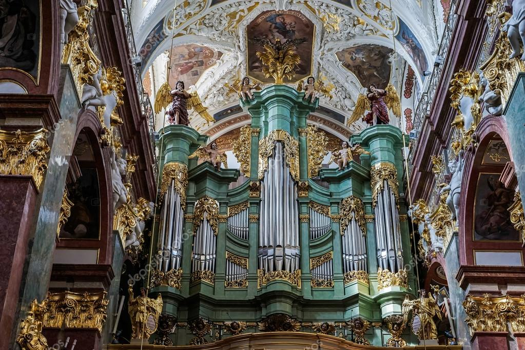 Partial view Jasna Gora Monastery in Czestochowa Poland ...