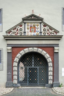 Ornate gate and arch in Weimar