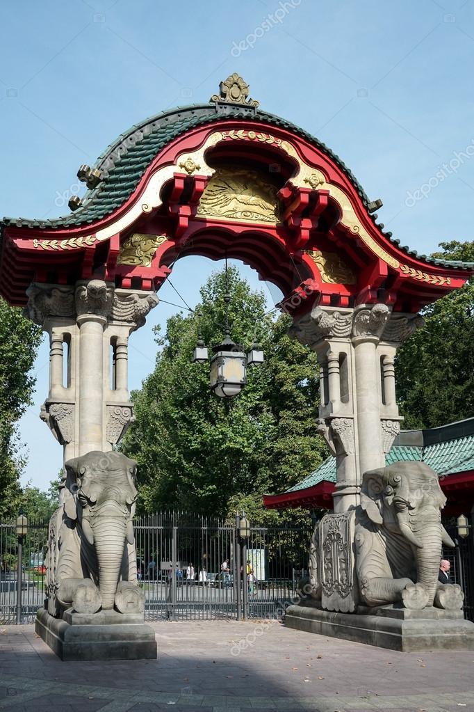 Der Eintritt In Den Zoo In Berlin Stockfoto Philbird 60055963