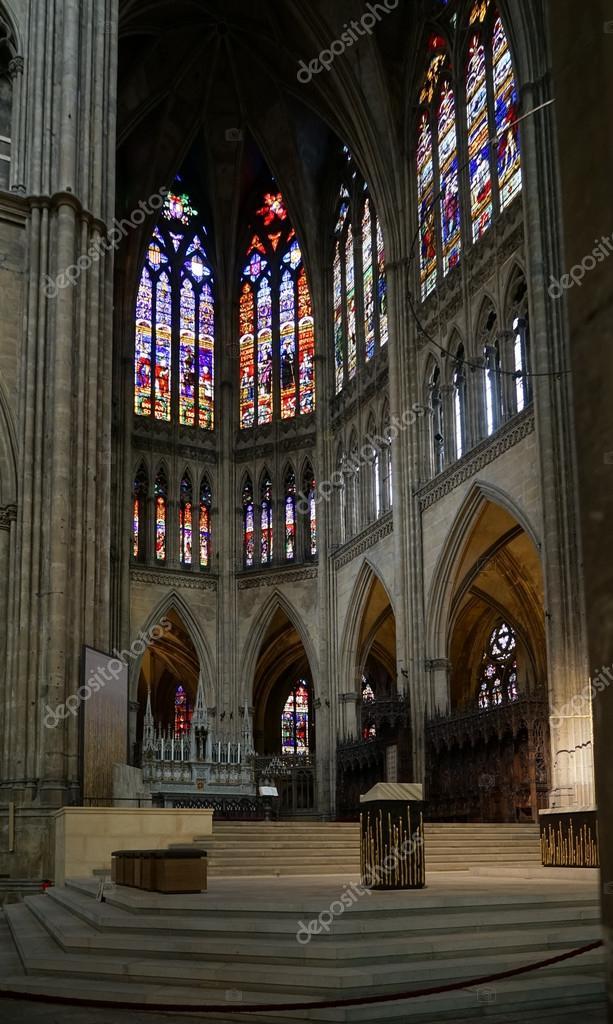 Metz, France / Europe - 24 Septembre: Vue de l\'intérieur de la ...
