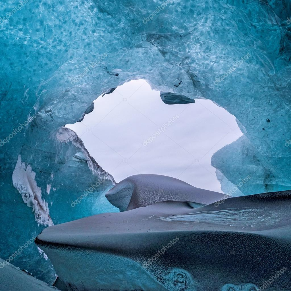Crystal Ice Cave near Jokulsarlon