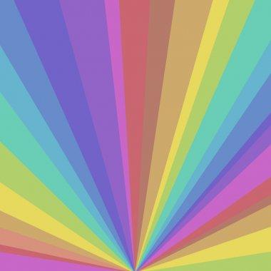 Rainbow Sunbeams Background