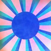 Růžové a modré sluneční paprsky pozadí