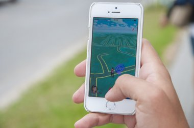 Pokemon go app on iPhone