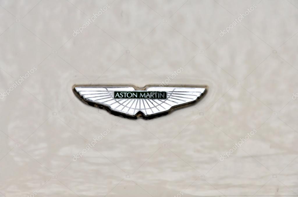 Logo Van Aston Martin Redactionele Stockfoto C Tadeas 61451905