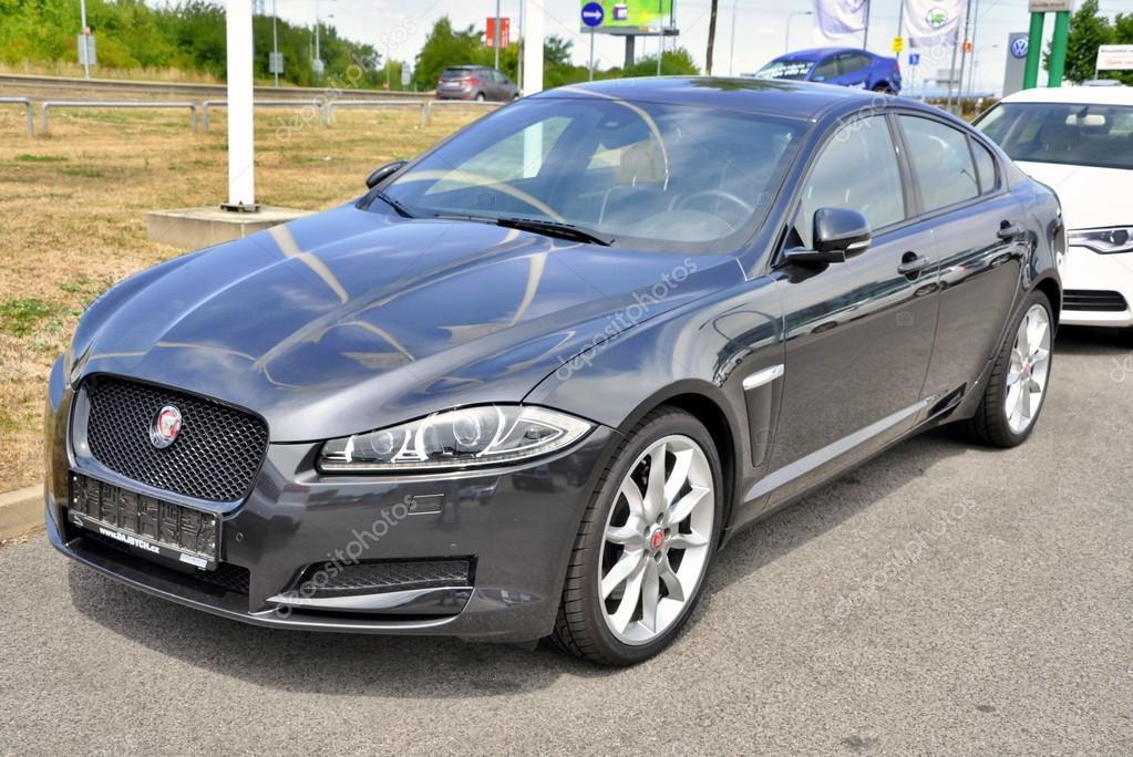 Brand new Jaguar XF