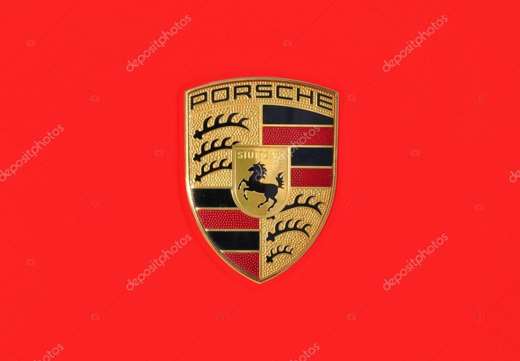 Background Porsche Logo Black Porsche Logo Stock Editorial Photo C Tadeas 82957806