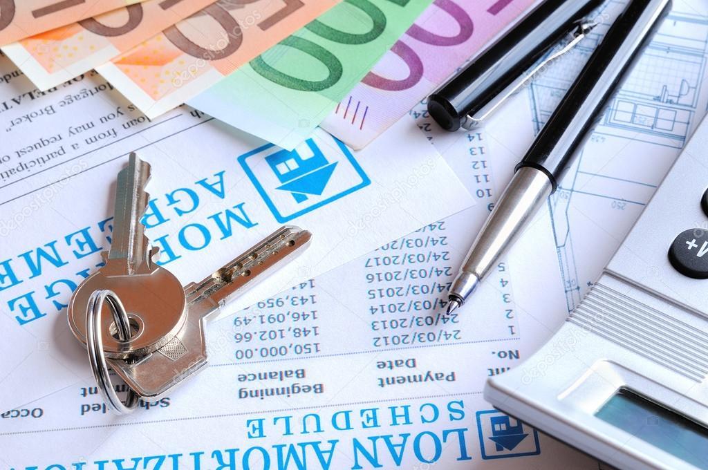 calcul de vue arrière de prêt hypothécaire photographie davizro