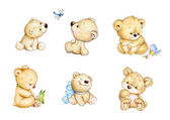 Fotografie niedliche Teddybären