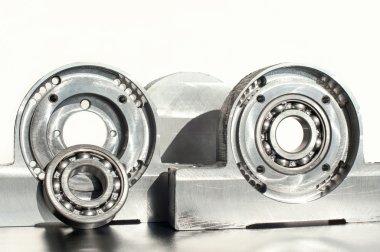 Mounted roller bearing unit. Mechanical engineering.