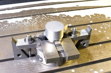 Industrial metal chuck die/mold. Metalworking and mechanical eng