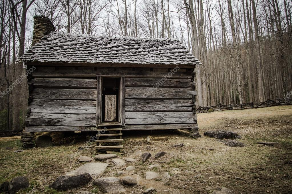 Pioneer Cabin In The Smoky Mountains National Park U2014 Stock Photo #104507864