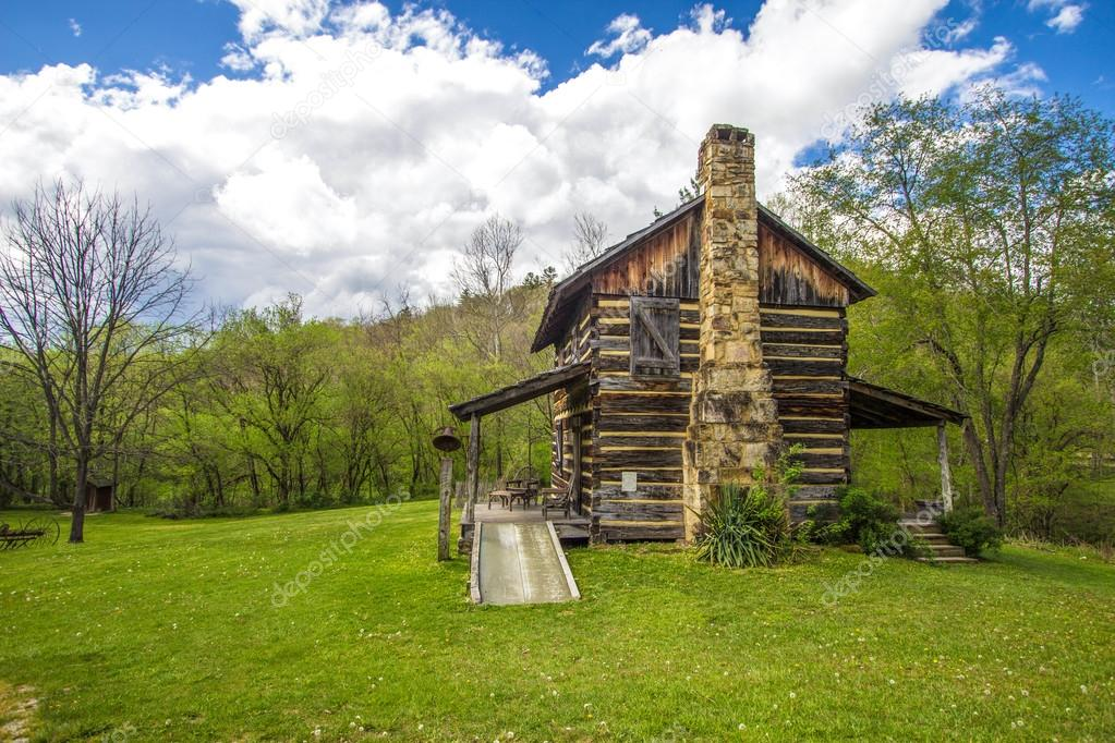 Historic pioneer cabin in kentucky stock photo ehrlif 111187312 kentucky historical log cabin gladie historic cabin in the daniel boone national forest in kentucky this is a historical landmark on public park land and publicscrutiny Image collections