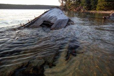 Lake Superior Shipwreck
