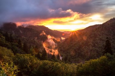 Great Smoky Mountain Sunset