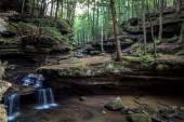 Fotografie Zauberwald-Wasserfall