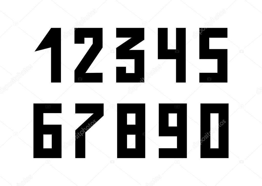 Eckige Zahlen