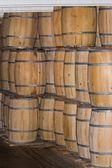 Fotografia botti in legno