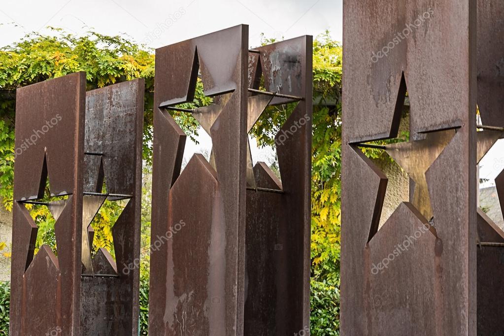 Monument Schengen Agreement European Countries Stock Editorial