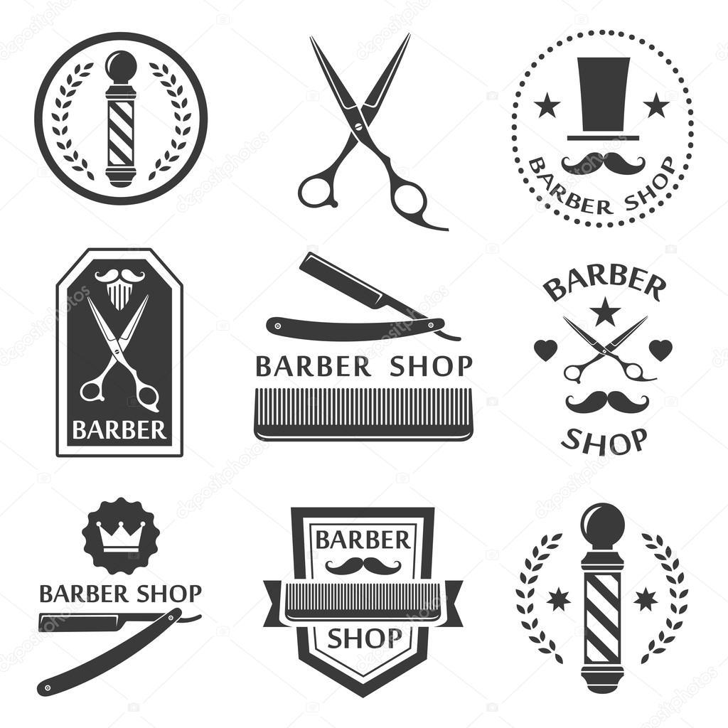 Барбер магазин логотип d7a066808818d