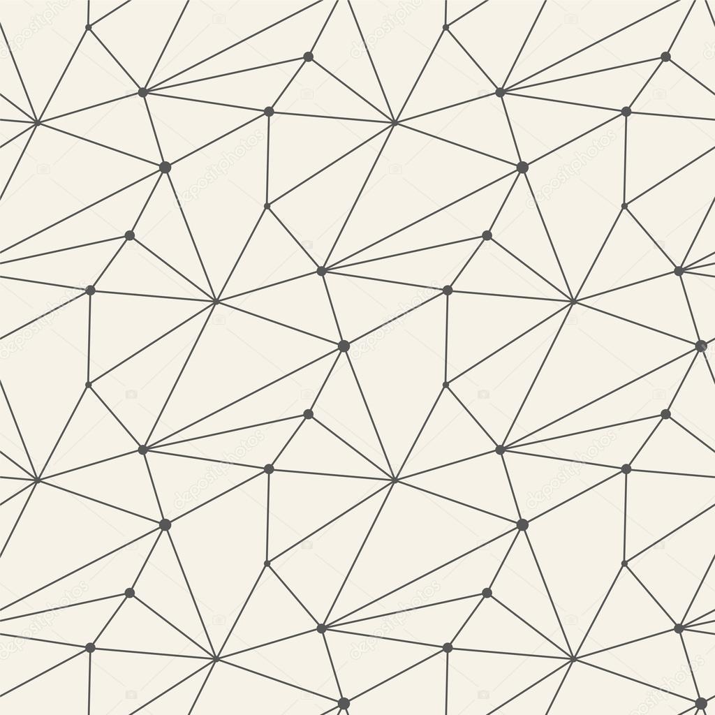 seamless line pattern tile background geometric stock vector