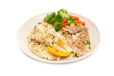 Diet food, Clean Eating, Chicken Steak with Eggs