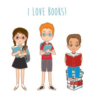 PrintChildren with books
