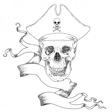 The Pirate Skull Jolly Roger