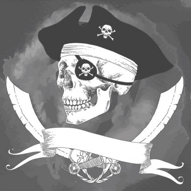 The Pirate Skull Jolly Roger