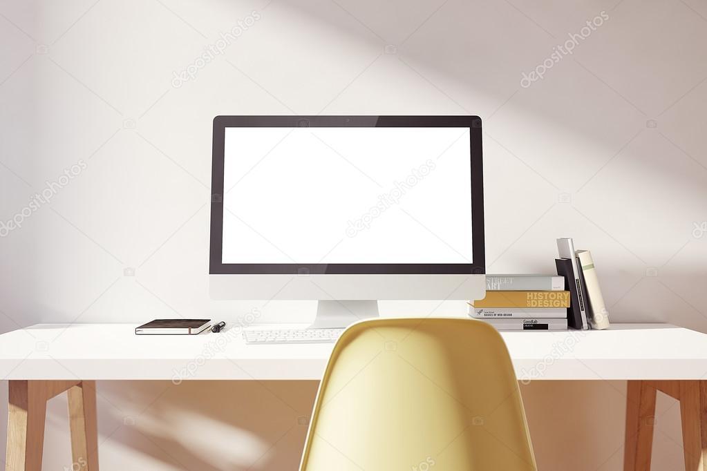 Light Simple Workspace Mockup Stock Photo Bestpixels