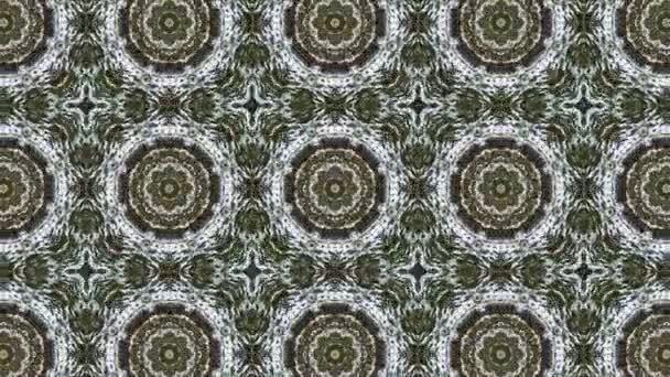 Fractal design e movimento circolare di colore.