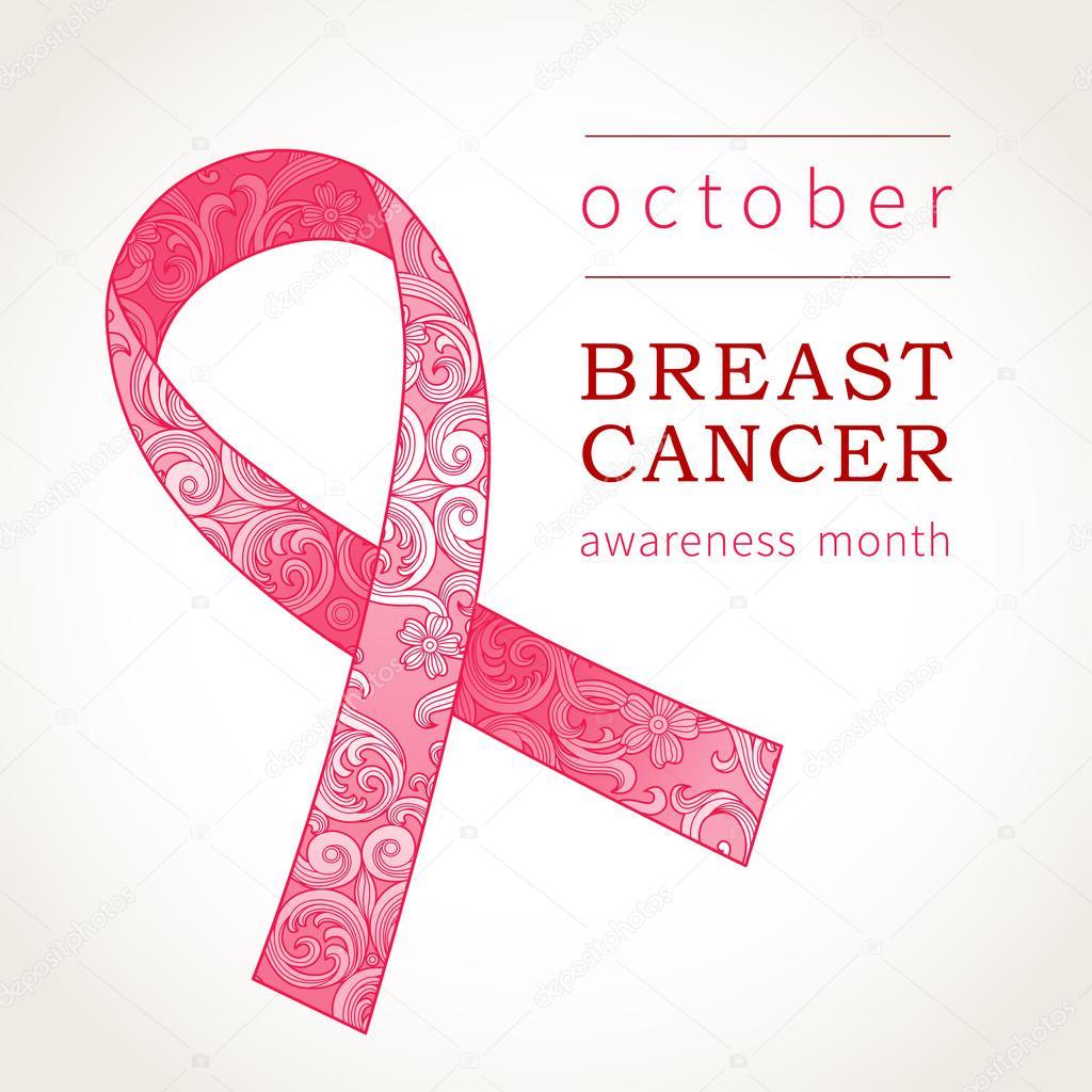 Symbol Of October Breast Cancer Awareness