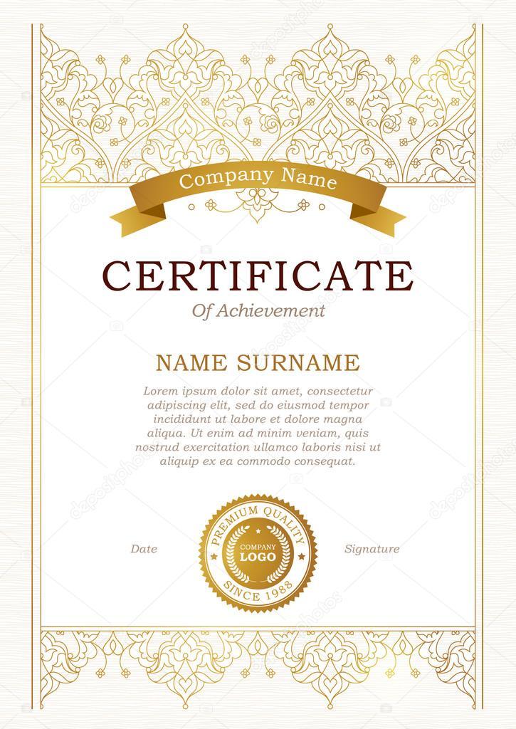 Certificate template eastern style certificate template eastern style yelopaper Images