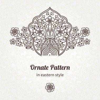 Pattern in Eastern style.
