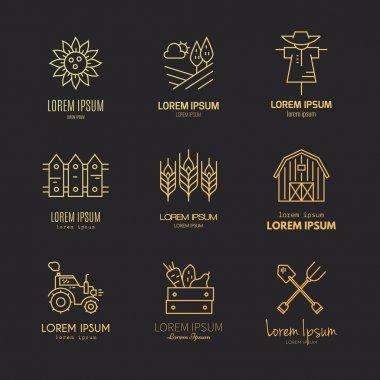 Modern Farming Logotypes