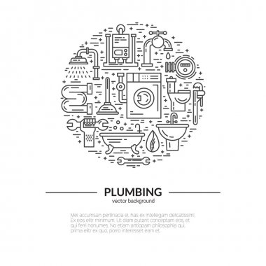 House plumbing concept