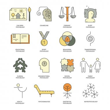 Counseling Icons set